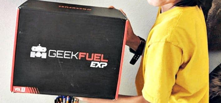 geek fuel - recent items
