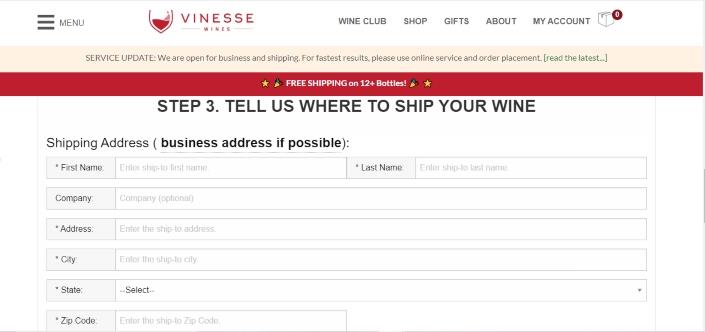 vinesse - base price