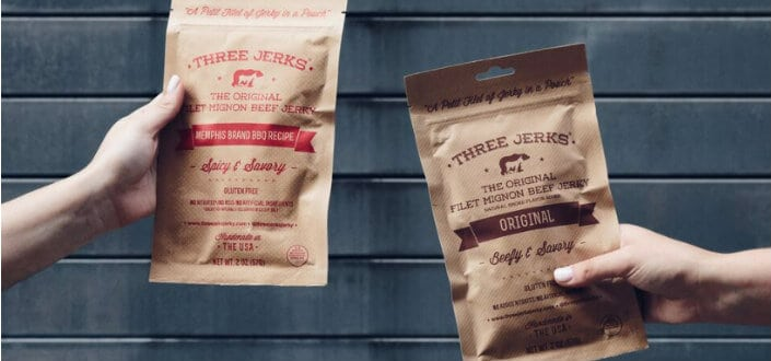 three jerks jerky - items