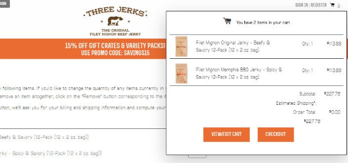 three jerks jerky - step 6