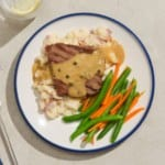 freshly review - Steak Peppercorn