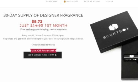 Scentbox Review – Is this scent monthly subscription worth it?