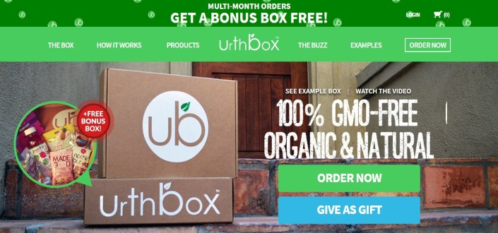 urthbox review-Step 1 Navigate to Urthbox com