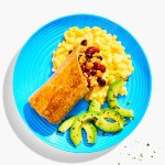 yumble review - Vegetarian Bean Burrito Weeknight