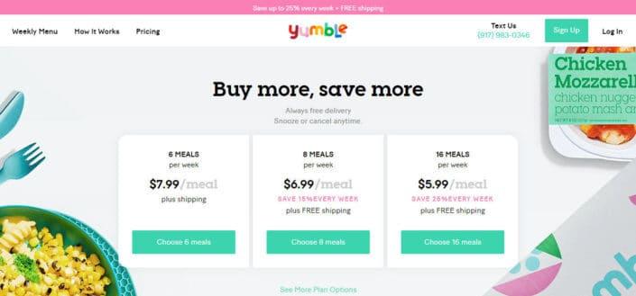 Yumble Price