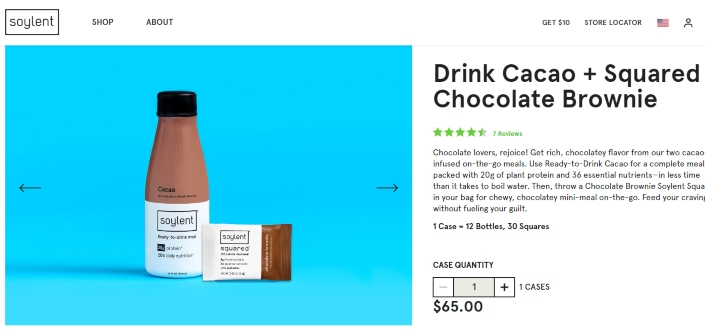 soylent review - Check out their Drink Bundles page