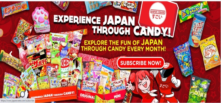 How to Join Japan Crate - Visit japancrate.com