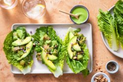 Sun Basket - Green goddess chicken salad lettuce cups with roasted almonds
