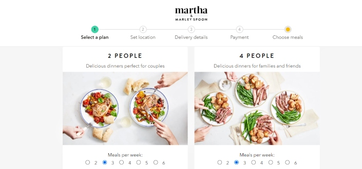 Marley spoon review - Decide how many meals youre going to make