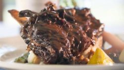 Chianti Braised Short Ribs with Rice