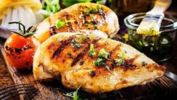 Mediterranean Chicken with Orange Honey Sauce